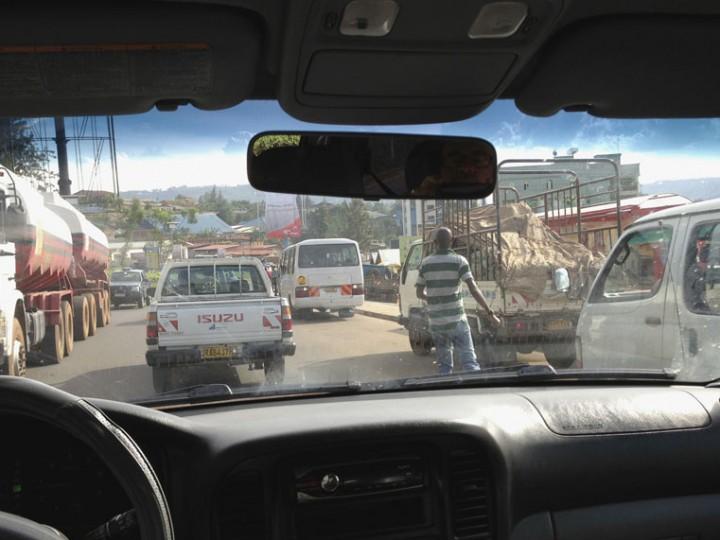 Road rage in Rwanda