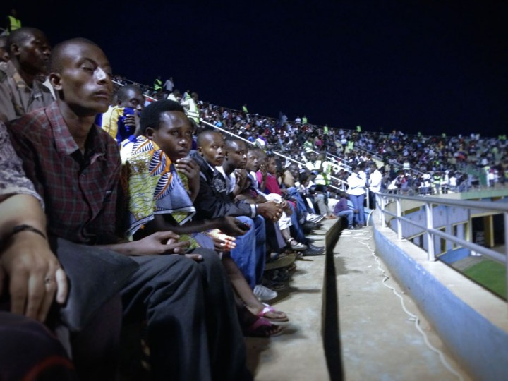 April 7th candlelight vigil, Amohoro stadium, Kigali